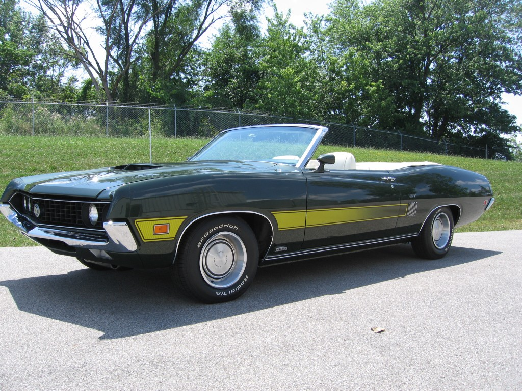 1970 Ford Torino Gt Convertible 1