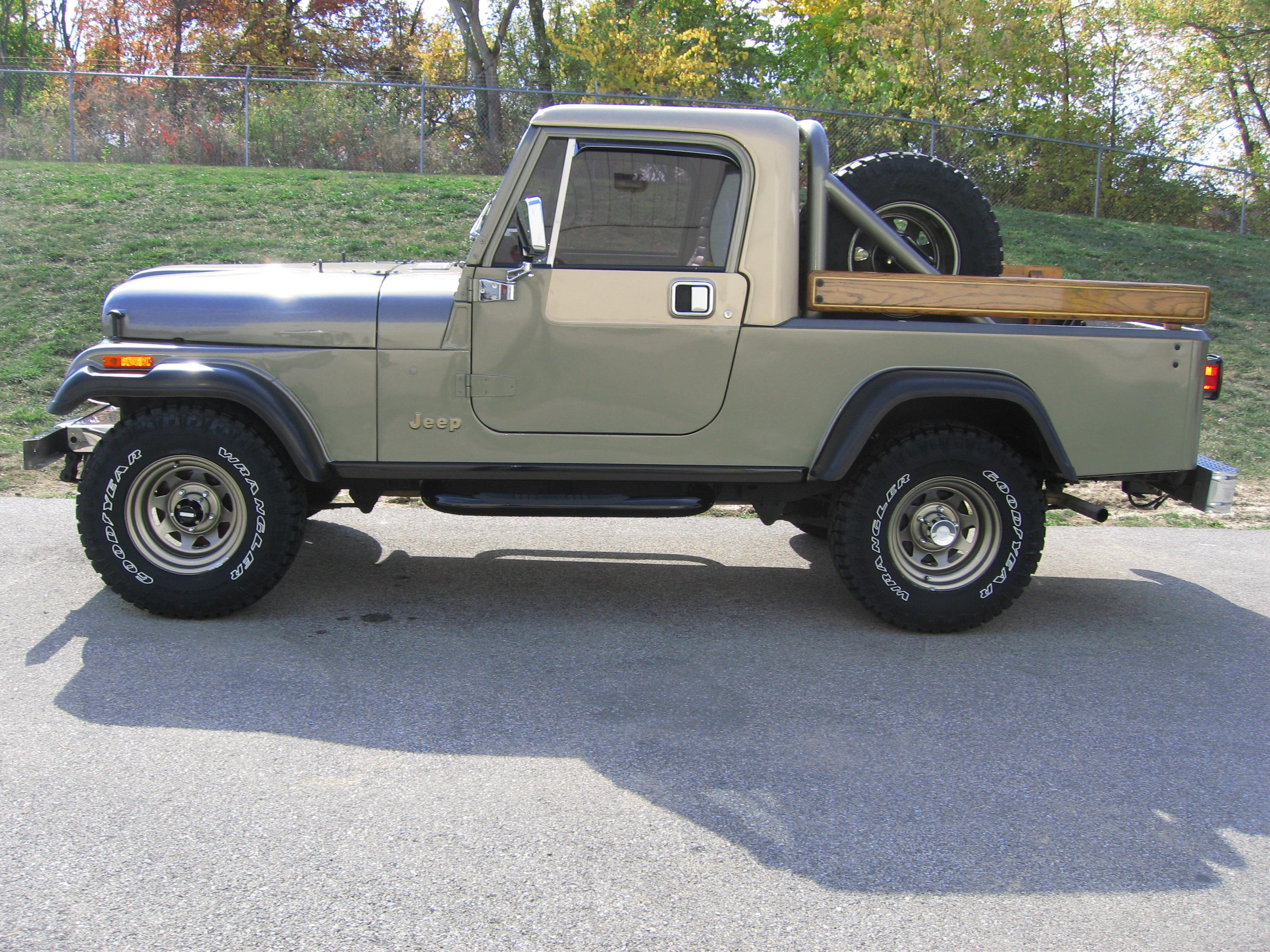 Jeep Grand Wagoneer >> 1982 Jeep Scrambler