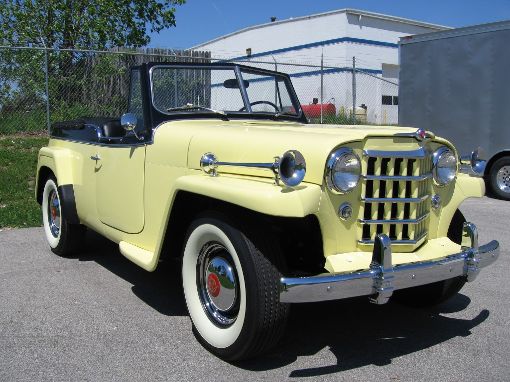 1950 Willys Jeepster Jeep Pick Up 7