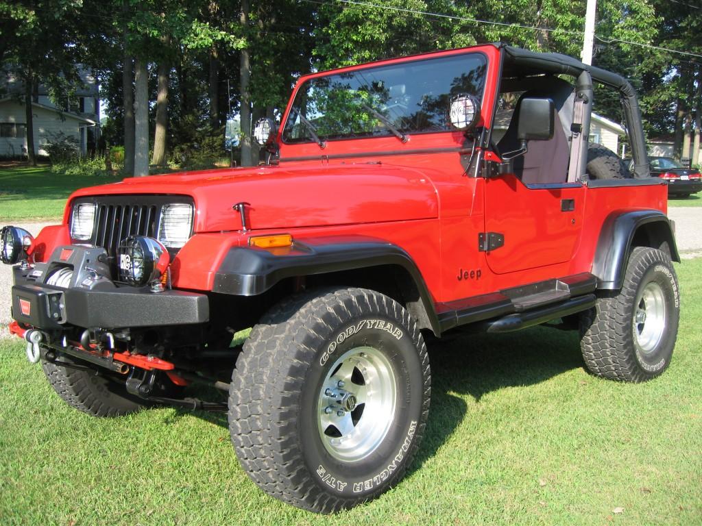 Jeep Wrangler Soft Top >> 1992 Jeep Wrangler