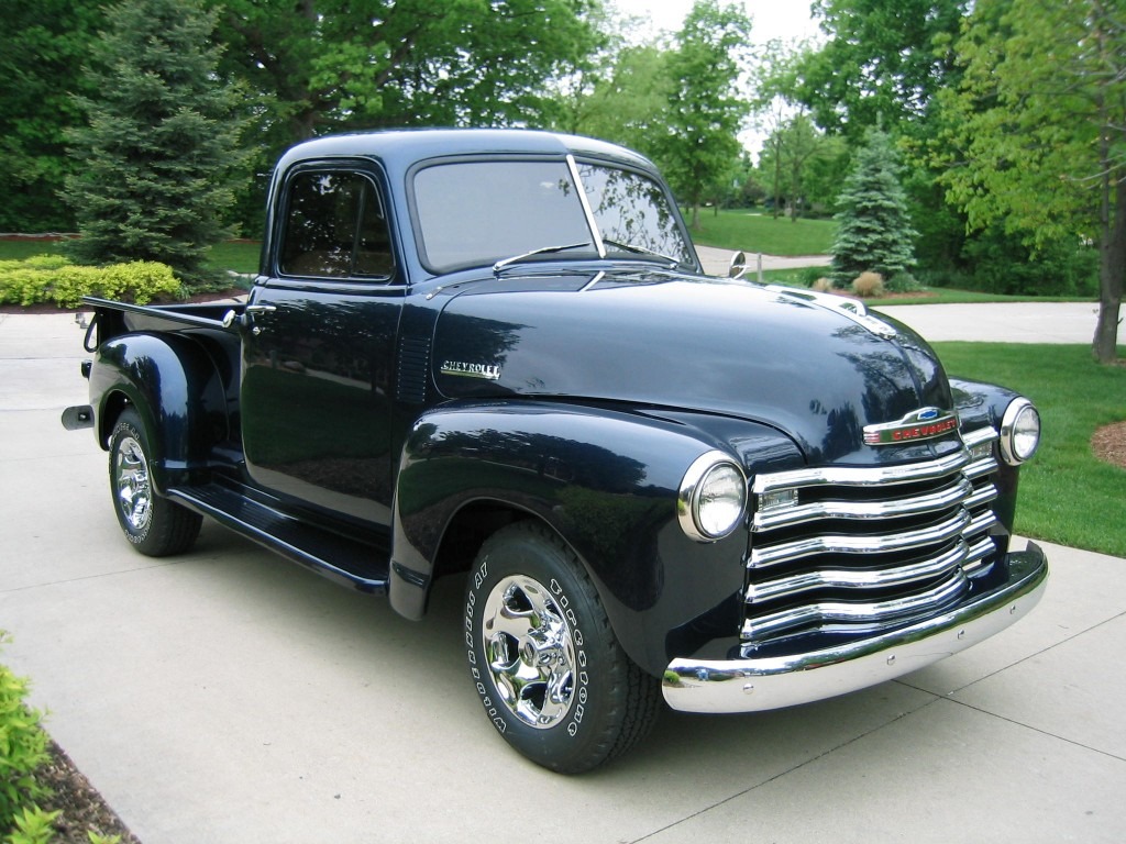 1951 Chevrolet 1500 Pick Up 52 Ford 1 2 Ton Pickup Truck