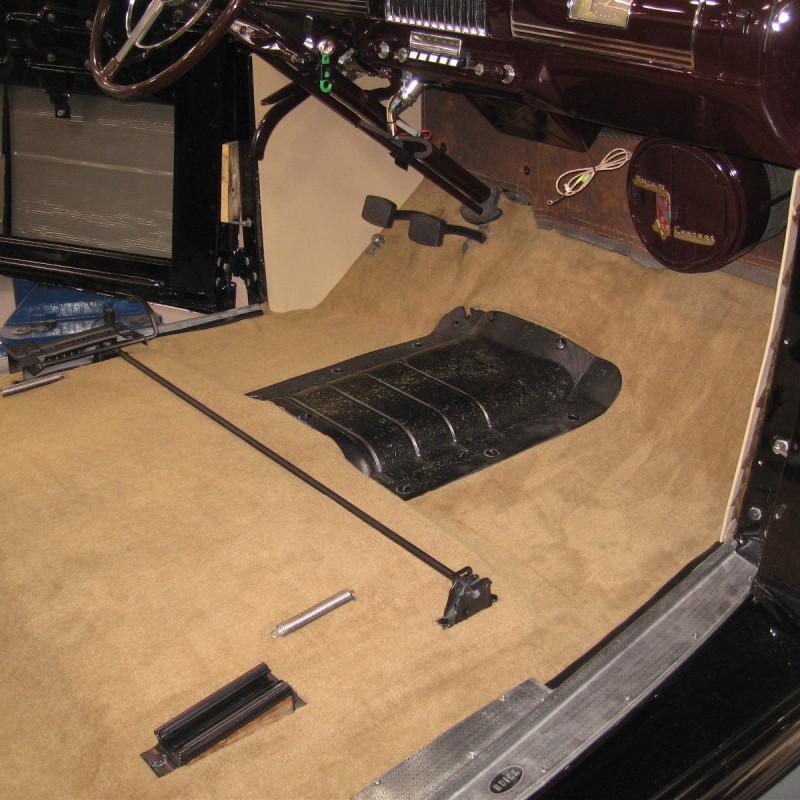 1939 Buick Interior